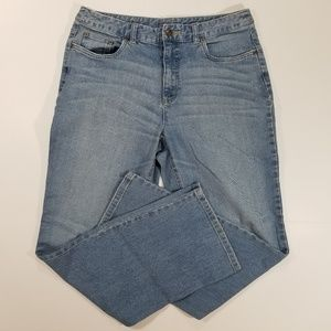 Talbots Petites Stretch Light Blue Jeans 10